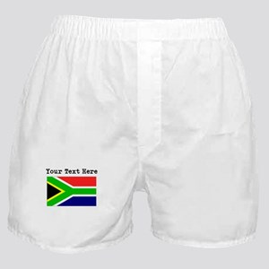 Custom South Africa Flag Boxer Shorts