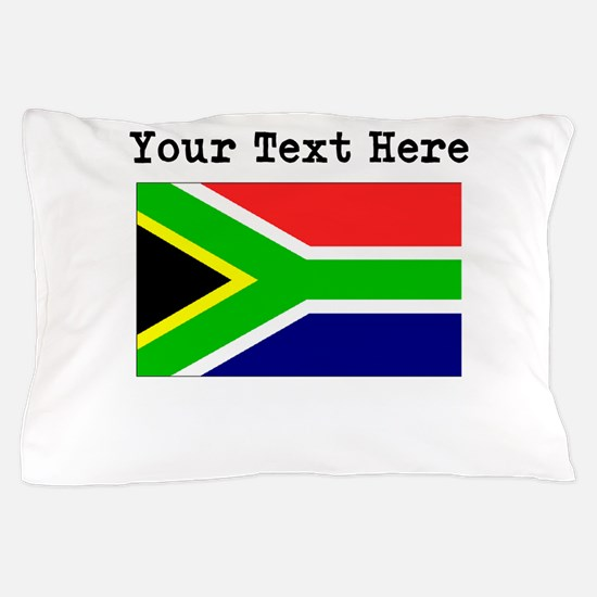 Custom South Africa Flag Pillow Case