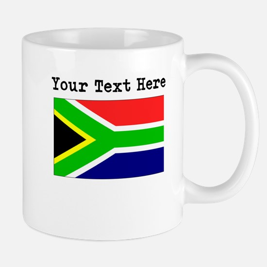 Custom South Africa Flag Mugs