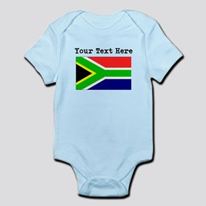 Custom South Africa Flag Body Suit