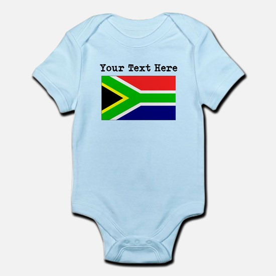 South african baby gifts custom south africa flag body suit negle Image collections