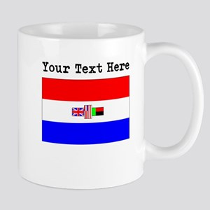 Custom Old South Africa Flag Mugs