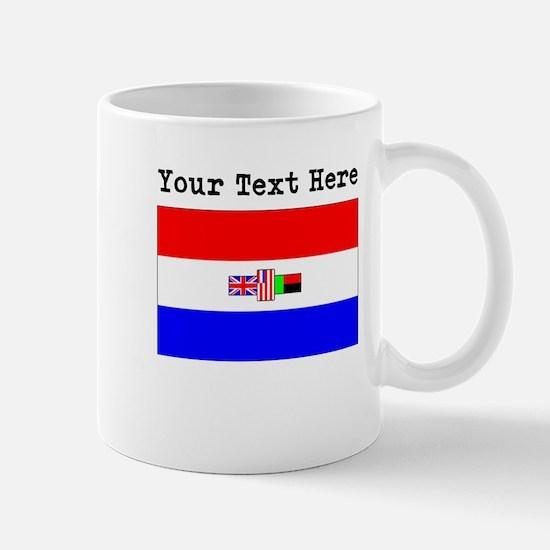Custom Old South Africa Flag Mugs