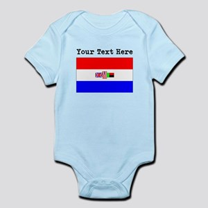 Custom Old South Africa Flag Body Suit