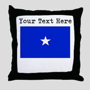 Custom Somalia Flag Throw Pillow