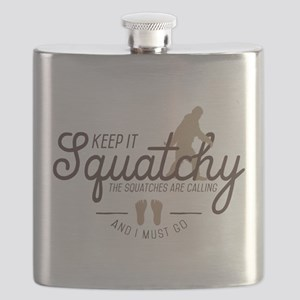 Keep It Squatchy Flask