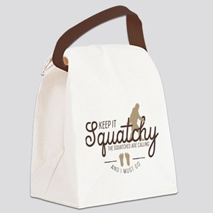 Keep It Squatchy Canvas Lunch Bag