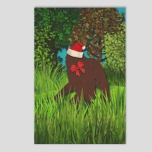 Bigfoot Santa Postcards (package Of 8)
