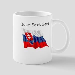 Custom Slovakia Flag Mugs