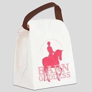 Barn Goddess Dressage Canvas Lunch Bag