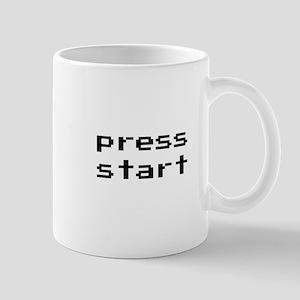 Press Start Mugs