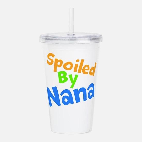 Spoiled By Nana Acrylic Double-wall Tumbler