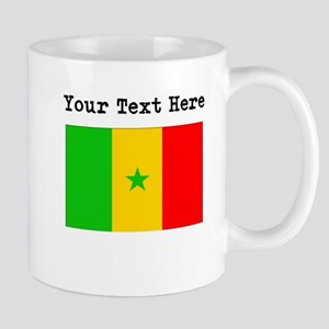 Custom Senegal Flag Mugs