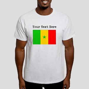 Custom Senegal Flag T-Shirt