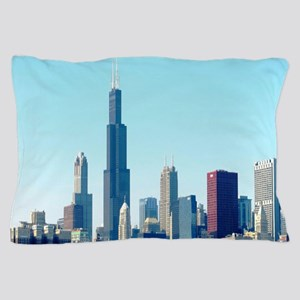Chicago Cityscape Pillow Case