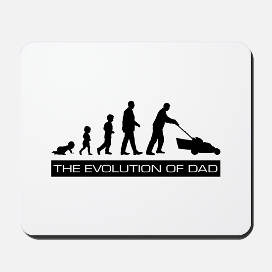 The Evolution of Dad Mousepad