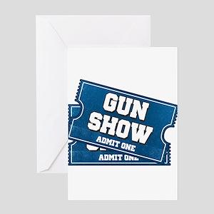 Tickets gun show greeting cards cafepress gun show tickets greeting cards m4hsunfo