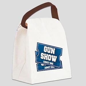 Gun Show Tickets Canvas Lunch Bag
