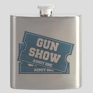 Gun Show Tickets Flask