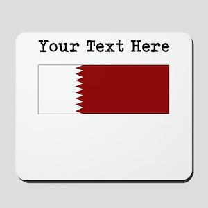 Custom Qatar Flag Mousepad