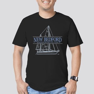 New Bedford - Men's Fitted T-Shirt (dark)