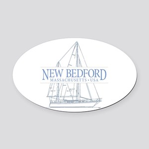 New Bedford - Oval Car Magnet