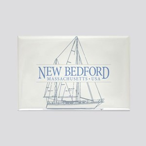 New Bedford - Rectangle Magnet