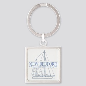 New Bedford - Square Keychain