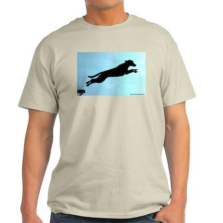 Dock Jumping Labrador Dog Light T-Shirt