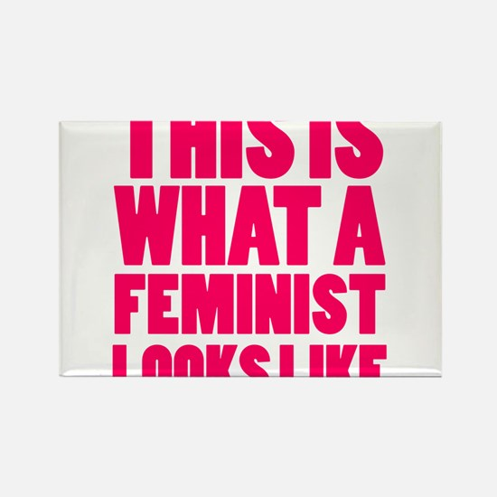 This is What A Feminist Looks Like Magnets