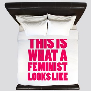 This is What A Feminist Looks Like King Duvet