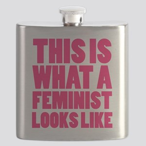 This is What A Feminist Looks Like Flask