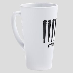 Cribbage Ninja 17 oz Latte Mug
