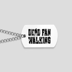 Dead Fan Walking Dog Tags