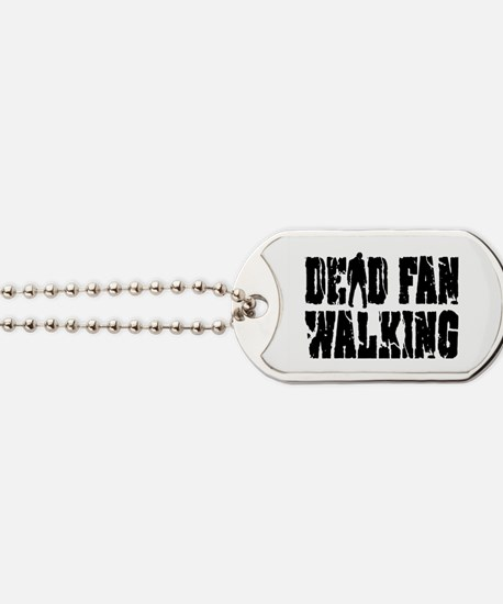 Dead Fan Walking Dog Tags
