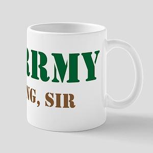 Army Training Sir Mug