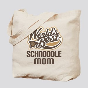 Schnoodle Mom Tote Bag