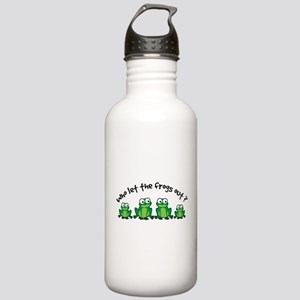 Who Let The Frogs Out Stainless Water Bottle 1.0L