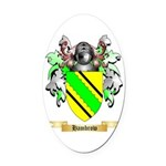 Hambrow Oval Car Magnet