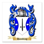 Hambling Square Car Magnet 3