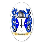 Hambling Sticker (Oval 50 pk)