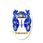 Hambling 35x21 Oval Wall Decal