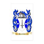 Hamblin Sticker (Rectangle 50 pk)
