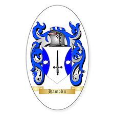 Hamblin Sticker (Oval)