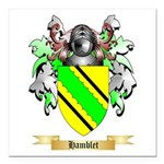 Hamblet Square Car Magnet 3