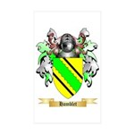 Hamblet Sticker (Rectangle 50 pk)