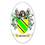 Hamblet Sticker (Oval 10 pk)