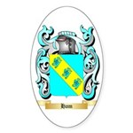 Ham Sticker (Oval 10 pk)