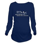 Awesome Words Long Sleeve Maternity T-Shirt
