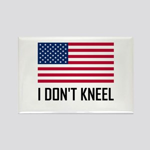I Do Not Kneel American Flag National Anthem Magne